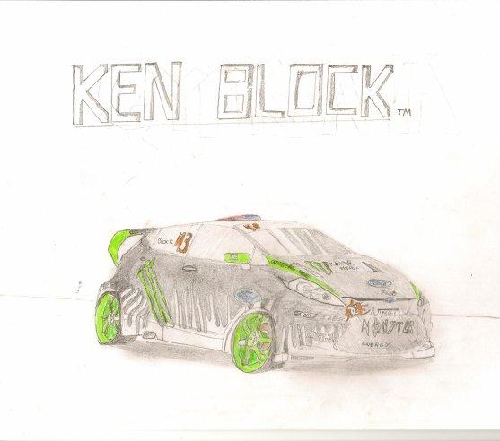 nouvelle voiture de ken block ford fiesta 2011 draw. Black Bedroom Furniture Sets. Home Design Ideas