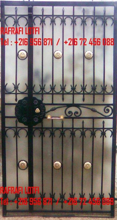 Portail fer forg 27 harmonie de fer forg tunisien for Portail fer forge tunisie