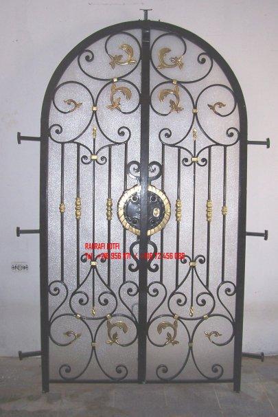 Portail fer forg 61 harmonie de fer forg tunisien for Portail fer forge tunisie