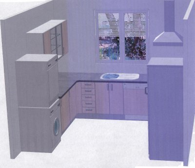 l am nagement de la buanderie arri re cuisine est aussi. Black Bedroom Furniture Sets. Home Design Ideas