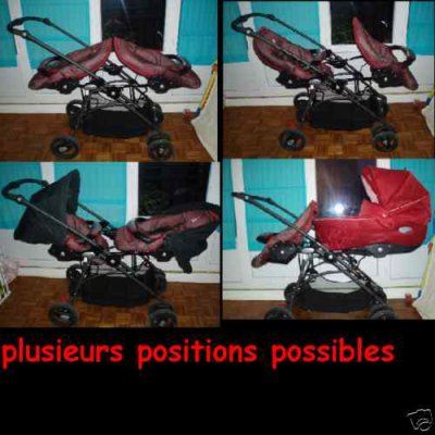 je vends ma poussette double twin club de bebe confort sur ce blog tout est vendre. Black Bedroom Furniture Sets. Home Design Ideas