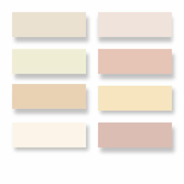 Nuancier les blancs de fil en aiguille for Couleur de peinture beige
