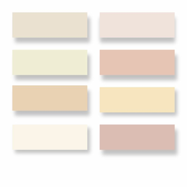 Nuancier Flamant Blanc – Palzon.Com