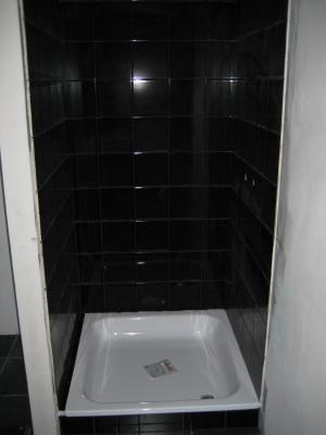 Fa ence salle de douche termin e le nouveau nid d 39 amour de laurent et carole - Faience voor italiaanse douche ...