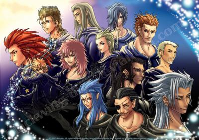 ... ou Sexman):... Xemnas Kingdom Hearts Chibi