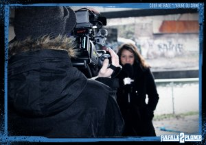 "MAKING OFF PHOTO COURT METRAGE"" L 'HEURE DU CRIME  """