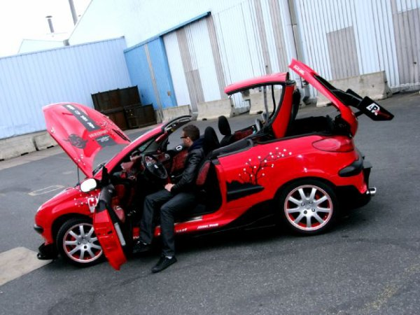 projet tuning complet 206cc a vendre 8000 euros fan tuning 36. Black Bedroom Furniture Sets. Home Design Ideas