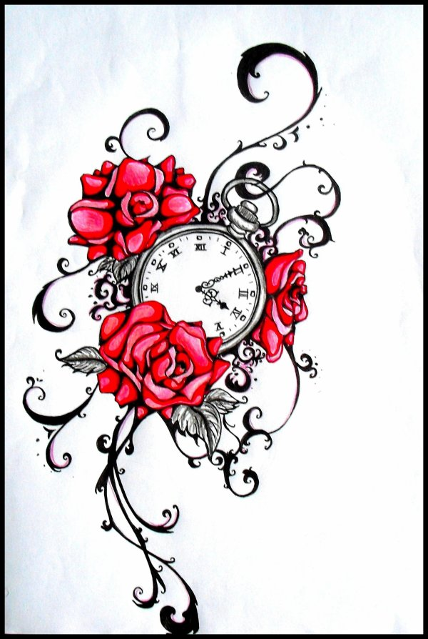 Tattoo 7 - Tatouage horloge signification ...