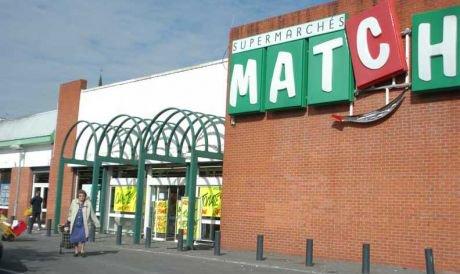 Le supermarch� Match de l'�peule braqu�