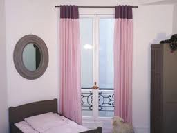 Rideau rose et violet pour chambre dado ou dadulte ...