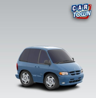 Dodge Grand Caravan - 2000 - Serty Car Town Tuning
