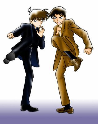 Heiji Hattori and Shinichi Kudo
