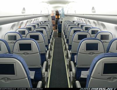 L 39 interieur d 39 un erj175 skyfs for A l interieur de l avion