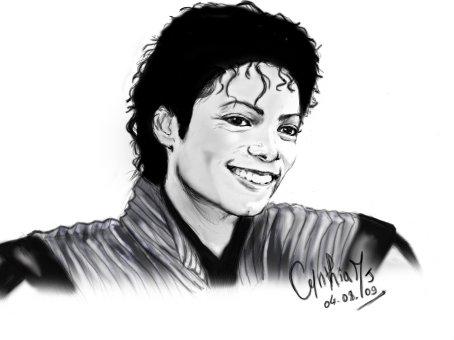 Michael jackson periode thriller mes dessins mangas et - Dessin de michael jackson ...