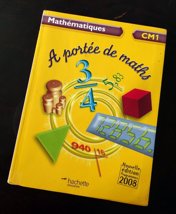 6 livre de maths cm1 a port e de maths a vendre sur for A portee de maths cm1