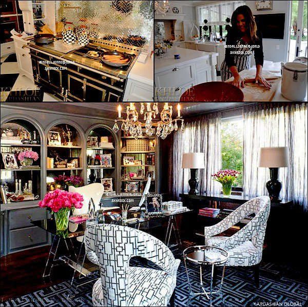 Article sp cial voici quelques photos de la maison des for Decoration maison khloe kardashian
