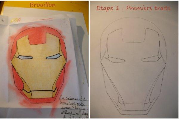Comment dessiner un iron man - Dessin de iron man ...