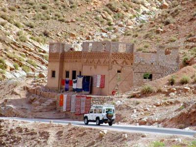 Casa en el desierto del sahara mustapha el - Casas del desierto ...