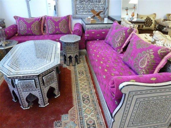 Salon Beldi Marocain : Salon marocain beldi tissemoderne
