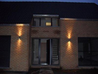 Les luminaires blog de maison team construct for Luminaire porte entree