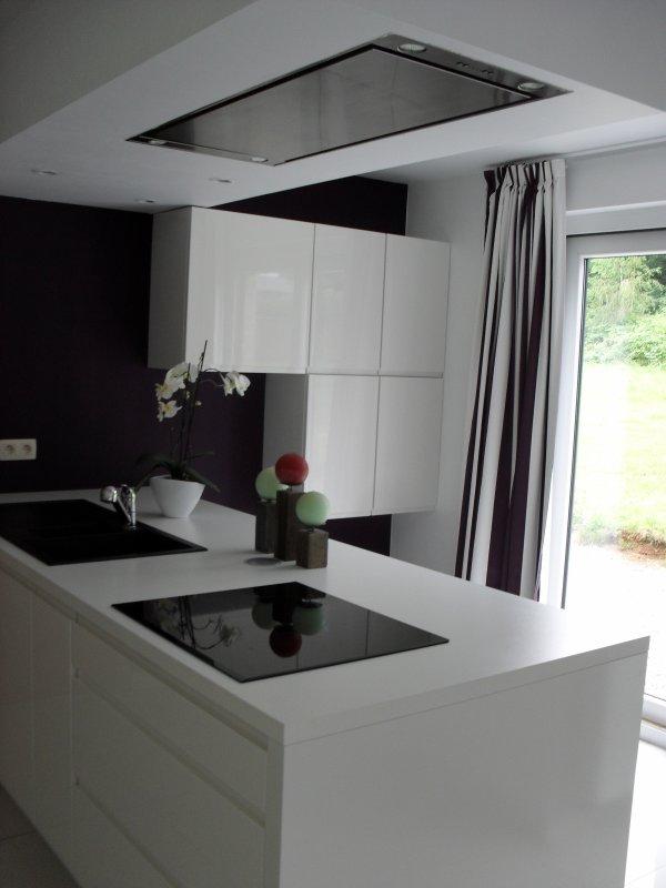 Peintures cuisine living termin es blog de maison for Peinture v cuisine