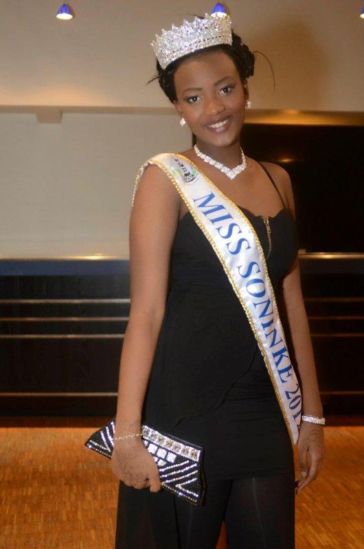Kadjidia Soumar� est la miss sonink� france 2012