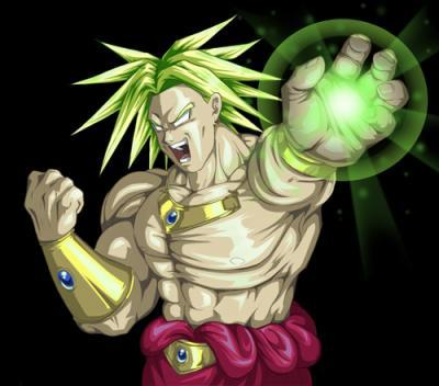 Broly dragon ball z - Sayen legendaire ...