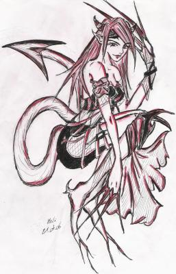 Diablesse bis meili07 dessin dessin dessin - Dessin diablesse ...