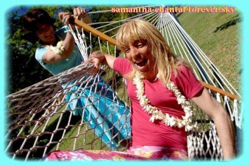 Samantha oups les pisodes dvd 4 fan blog officiel - Samantha oups sur le banc ...