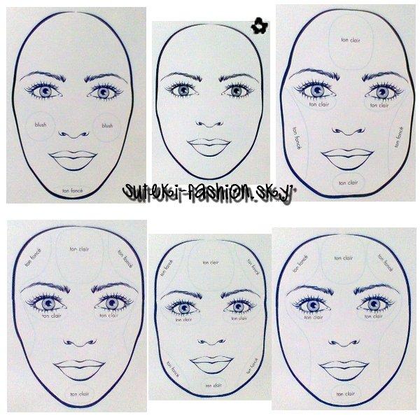 astuce make-up  comment bien mettre en valeur son visage