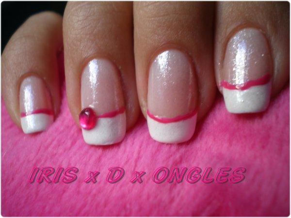 nail art pink girly iris au pays des licornes. Black Bedroom Furniture Sets. Home Design Ideas