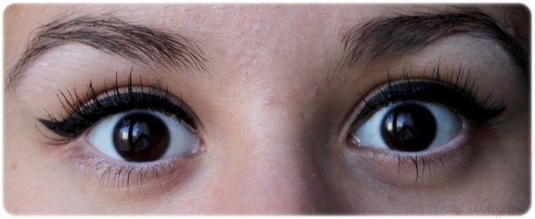 Maquillage du jour r ussir son trait d 39 eyeliner iris au pays des licornes - Comment mettre de l eye liner ...