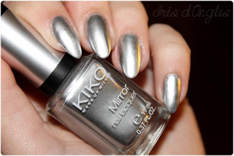 test vernis n 616 silver de chez kiko mirror iris au pays des licornes. Black Bedroom Furniture Sets. Home Design Ideas