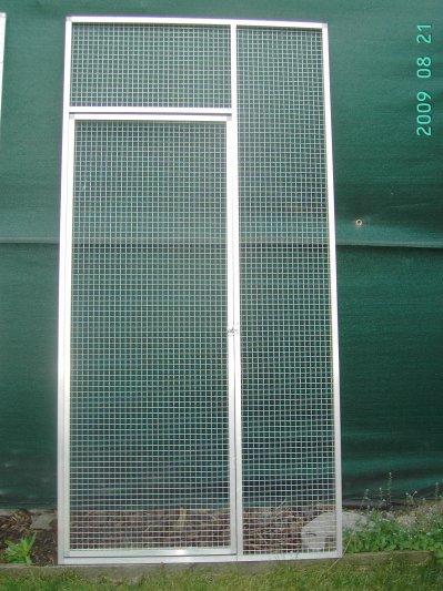 panneaux pour grandes perruches et perroquets gris avec grillage galvanis de 19x19x1 45mm. Black Bedroom Furniture Sets. Home Design Ideas