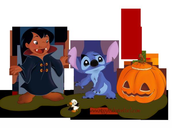lilo et stitch ont f234t233 halloween blog artisticoaquatique