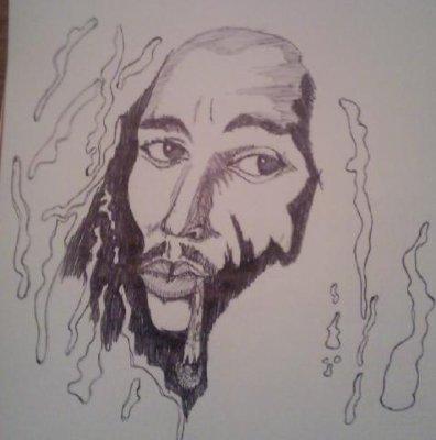 181 me dessin dieu rasta mes dessins - Dessin de rasta ...
