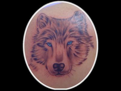 Tete de loup le tatouage par excellence - Tete de loup tatouage ...