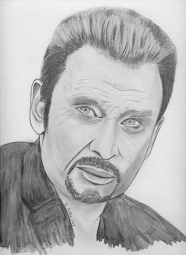 Johnny Hallyday - Blog de Drawing-Stars