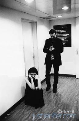 Photo en noir et blanc jeni dans toute ses couleurs for Dans nos coeurs 53