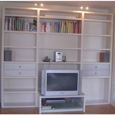 biblioth que de salon meuble tv living marque gautier modele byblos blanc fil blog de ma. Black Bedroom Furniture Sets. Home Design Ideas