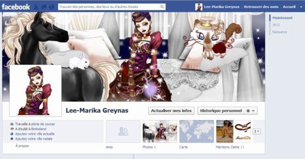 Ma Bimbo a un FaceBook
