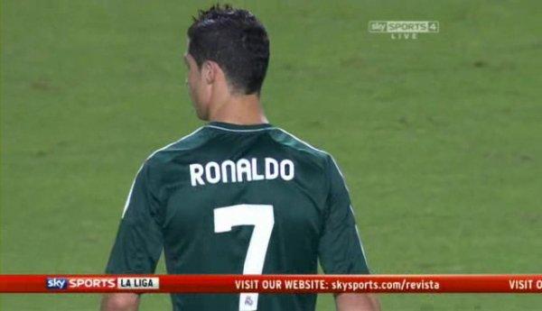 Cristiano Ronaldo Vs Sevilla Away.
