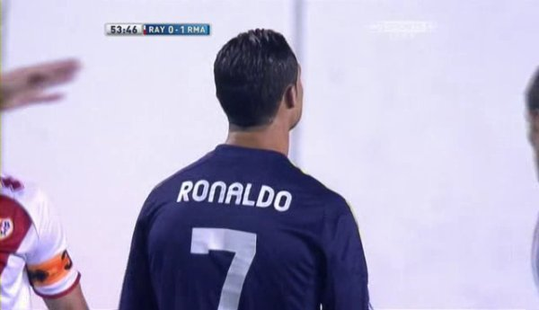 Cristiano Ronaldo Vs Rayo Vallecano Away.