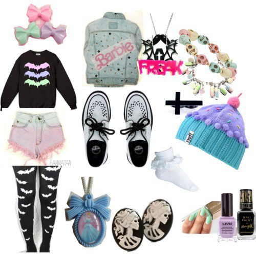 Pastel Goth/Hipster Goth - Do It Yourself