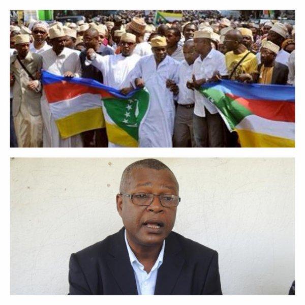 Le ministre de l 39 int rieur mr msaidi est un orphelin for Le ministre de l interieur