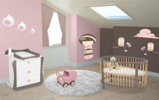 Chambre de ma petite fille bonjour - Chambre de petite fille 2 ans ...