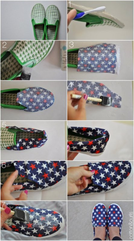 Articles de do it yourself creas tagg s customisation blog de do it yourself creas - Diy boite a chaussure ...