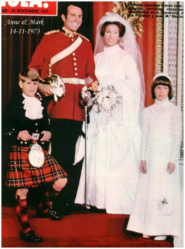 Princess Anne Wedding Dress Pictures : The wedding dress princess anne of england suite de