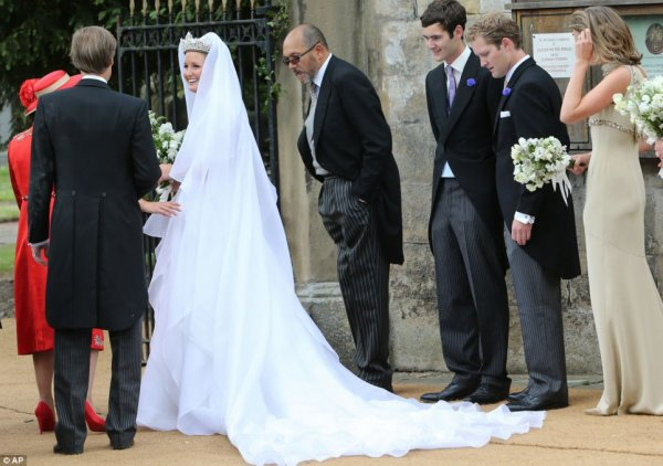 Royal Wedding Dress 2013 - Lady Melissa Percy