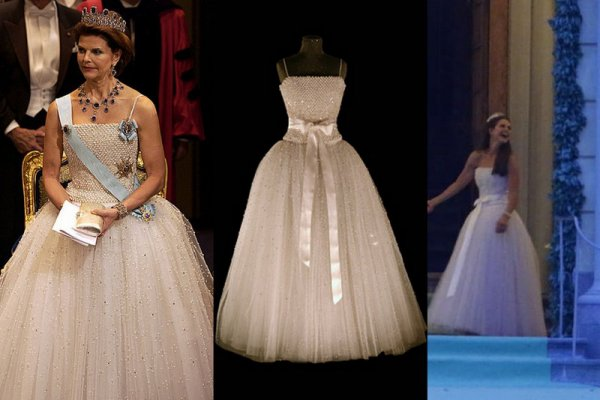 Royal Wedding Dress 2013 - Princess Madeleine of Sweden _ Suite